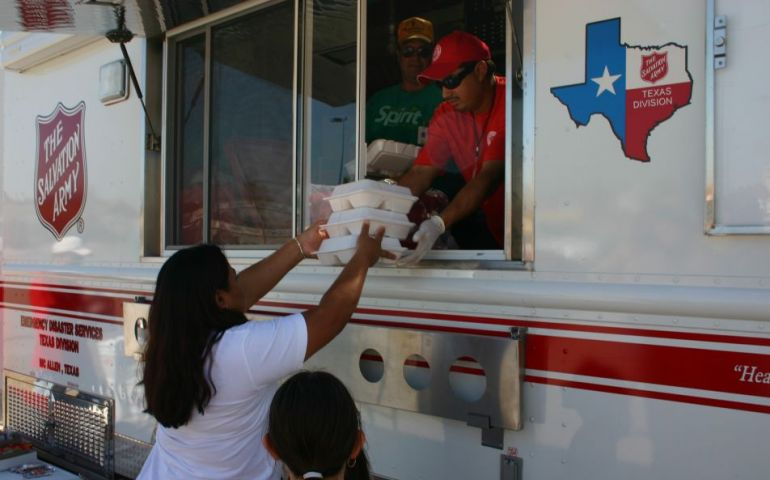 The Salvation Army in San Marcos, Texas, Serving Following Deadly Apartment Fire