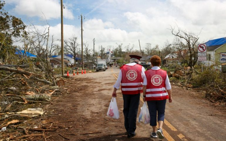 The Salvation Army Disaster Relief Work Continues in Georgia