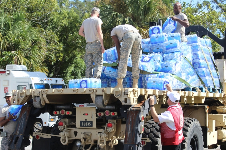 Salvation Army and Georgia National Guard Partner in Glynn County