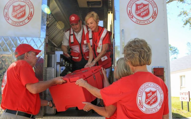 The Salvation Army of Georgia Activates as the Peach State Braces for Hurricane Dorian