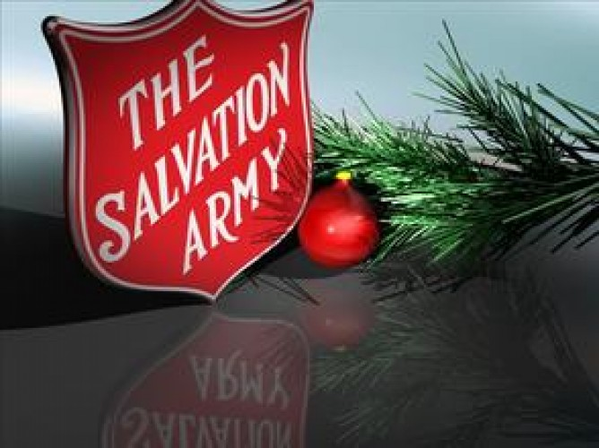 The Salvation Army Disaster Services Is Always There - Even on Christmas Eve!