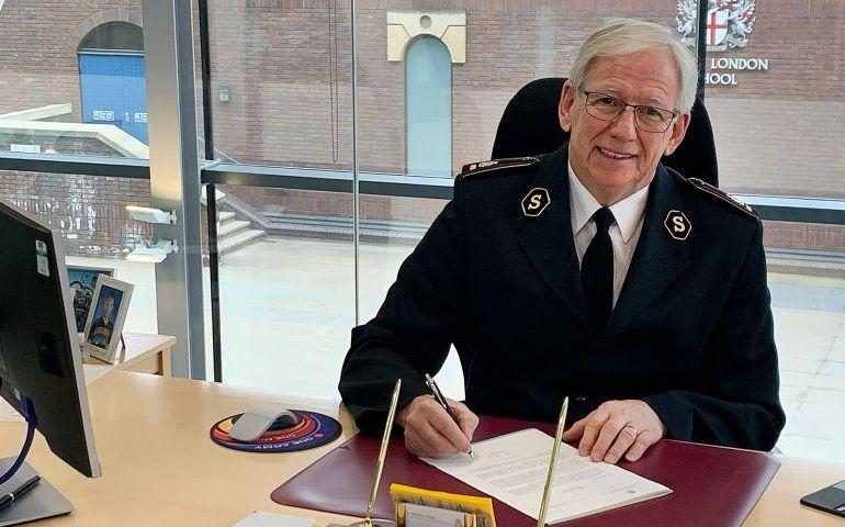International Leader of The Salvation Army Signs COVID-19 Vaccine Equity Declaration