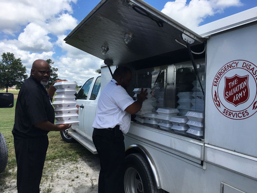 The Salvation Army Serves 200 Meals, Supports Responders Following Plane Crash