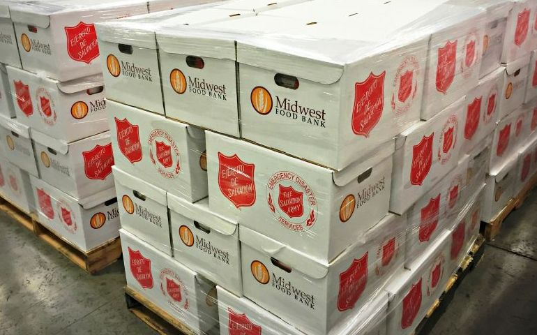 The Salvation Army and Midwest Food Bank Partner to Serve Hurricane Survivors