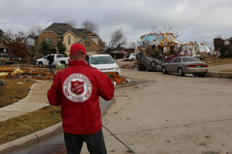 Salvation Army Response Efforts Continue Following Texas Tornadoes