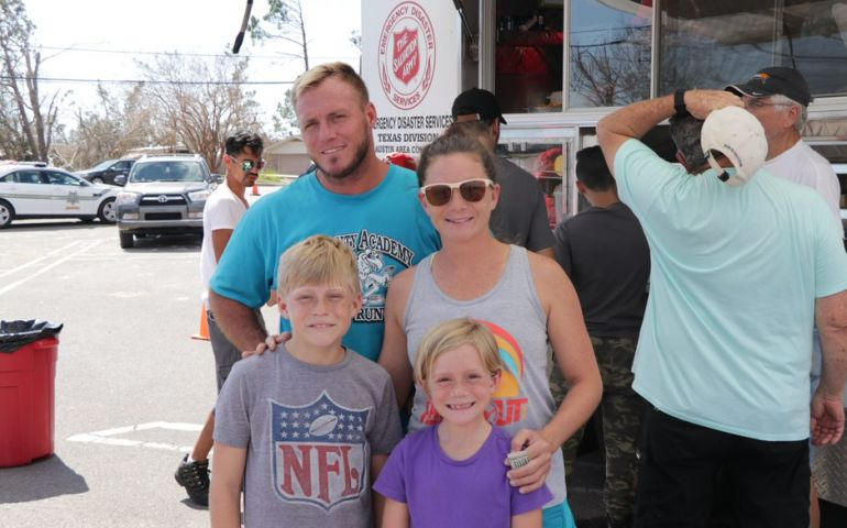 "The Salvation Army Helps ""Lift the Burden"" for Panama City Family"