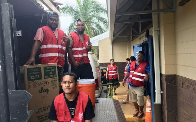 The Salvation Army continues EDS outreach on Kauai in flood areas