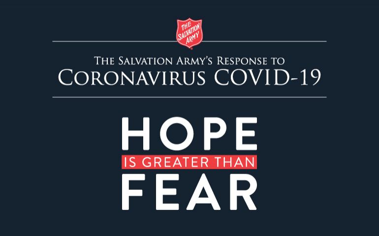 The Salvation Army Continues To Work During Pandemic
