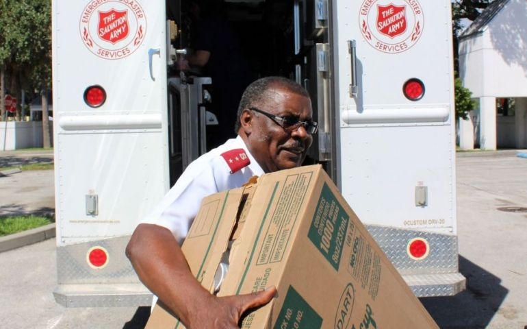 The Salvation Army Prepares for Hurricane Michael