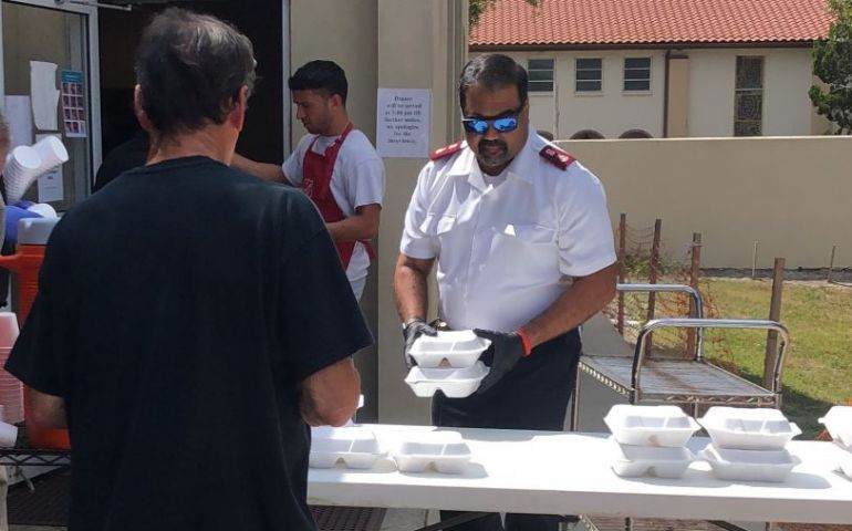 MEALS TO-GO AND HANDWASHING STATIONS HELP SALVATION ARMY CONTINUE MEAL SERVICE IN FLORIDA