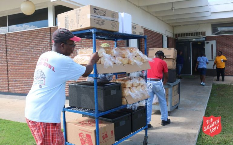 The Salvation Army Nourishes Staff at Community Center in Marianna