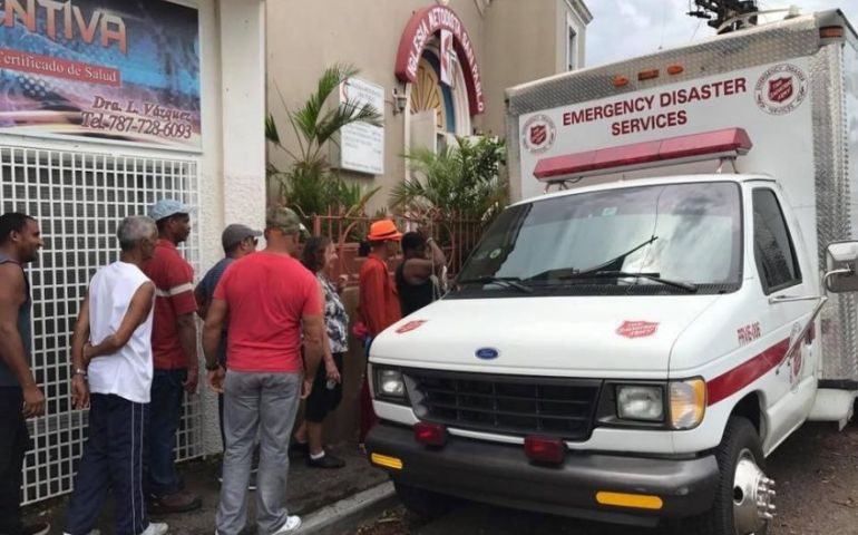 Salvation Army Relief Efforts Continue in Puerto Rico & U.S. Virgin Islands