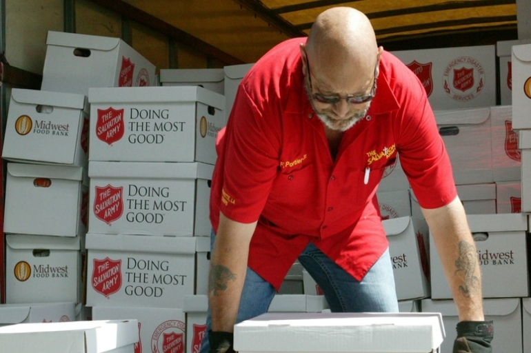 The Salvation Army Assists Flood Survivors in Breaux Bridge & St. Martinville LA