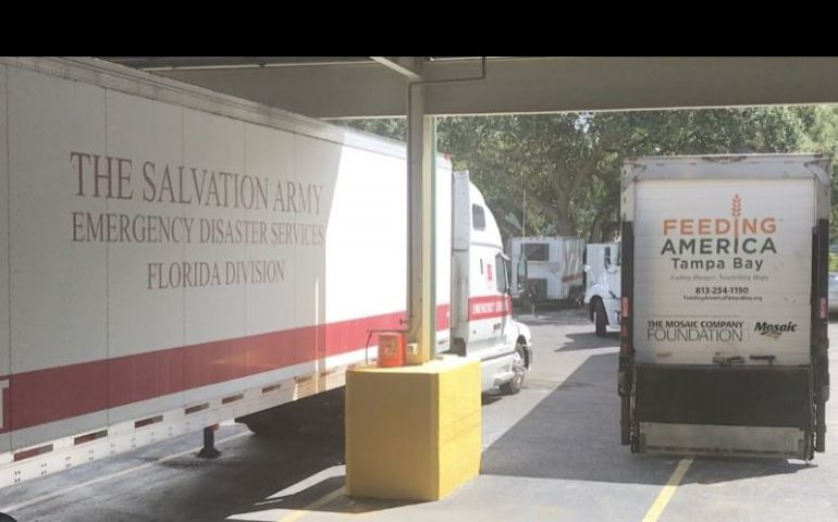 Salvation Army Partners with Feeding America of Tampa Bay to Distribute Meals