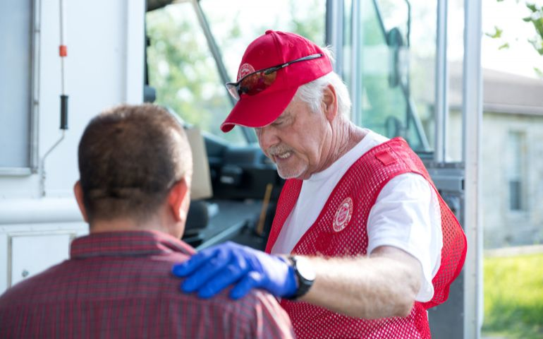 The Salvation Army Providing Relief in Golden Triangle as Flooding Recedes
