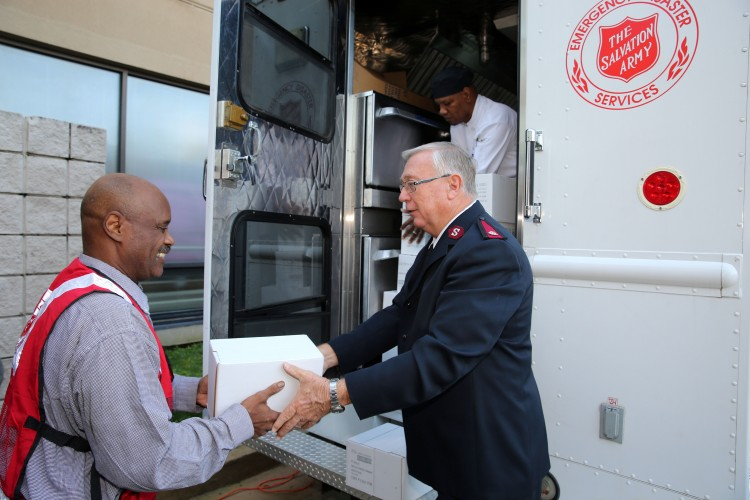The Salvation Army of Georgia Aids Flood Victims in South Carolina