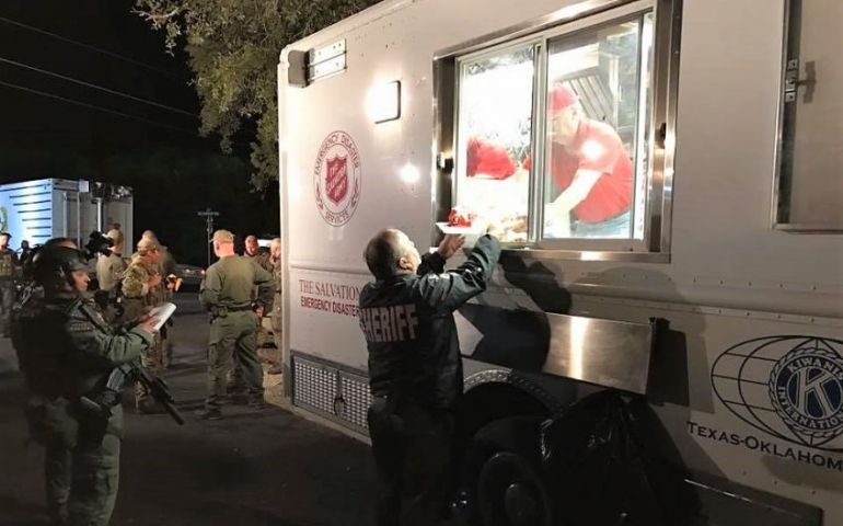 Salvation Army Serving Law Enforcement During San Antonio Standoff