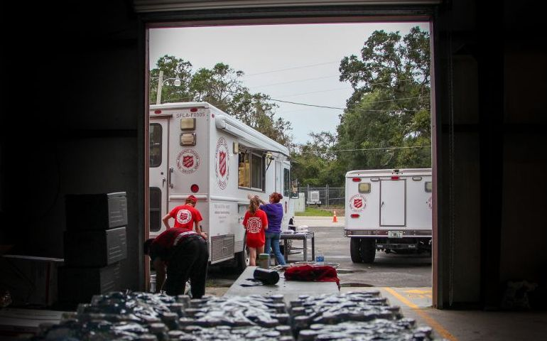 Meals and Mobile Feeding Units Are Prepped to Serve Throughout Louisiana for Hurricane Delta Relief