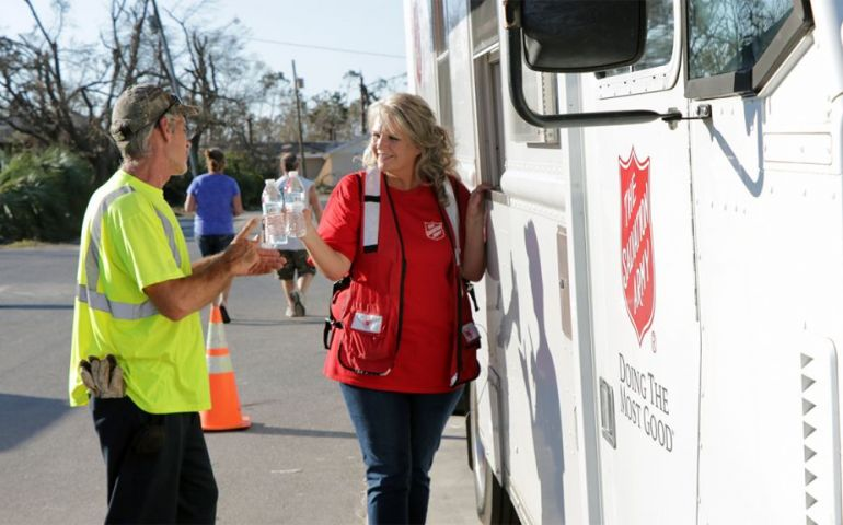 The Salvation Army Delivers Food and Hope in Wake of Hurricane Michael