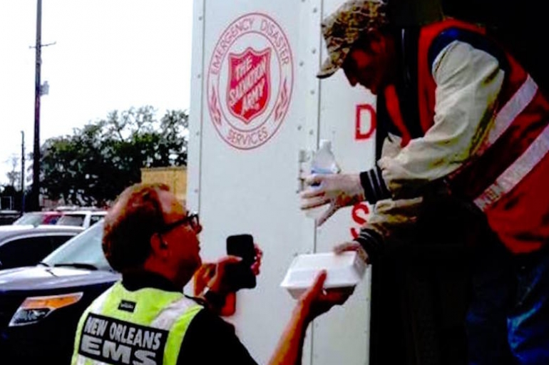 The Salvation Army Meeting Need After Tornado Outbreak in New Orleans