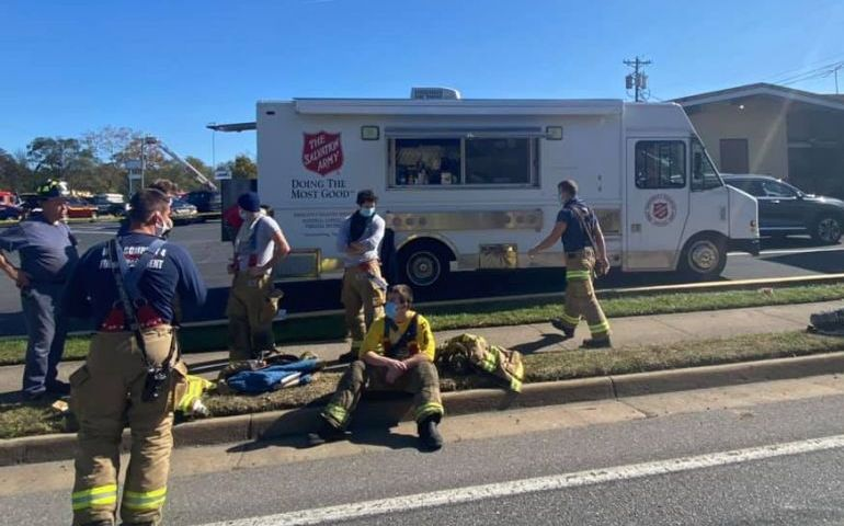 Salvation Army Responds to Explosion Aftermath in Virginia