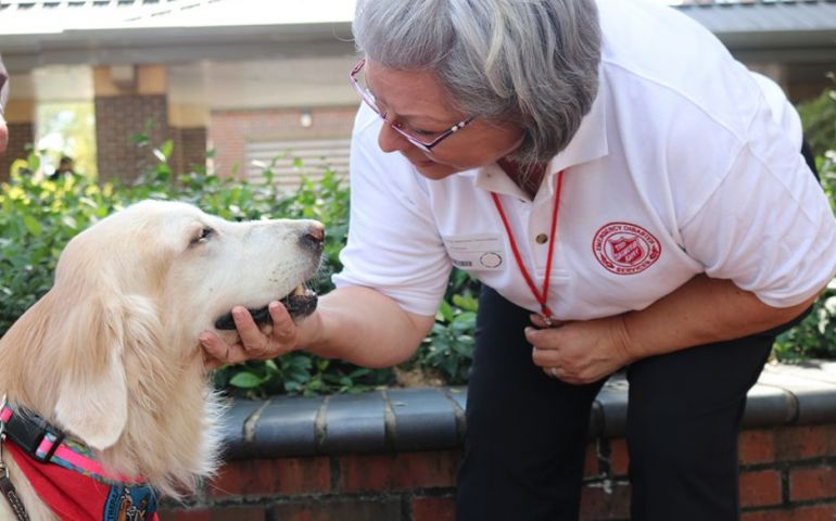 Tallahassee Veterinarian Sharing in Salvation Army's Ministry of Comfort