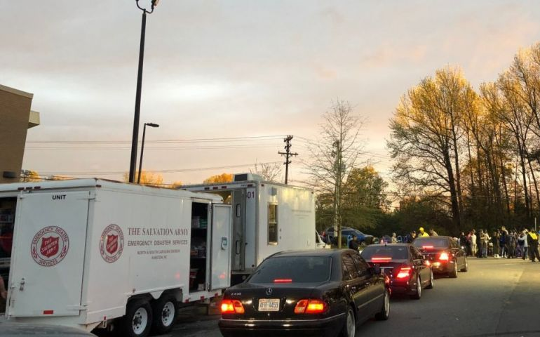 Salvation Army Support Continues in Greensboro, North Carolina