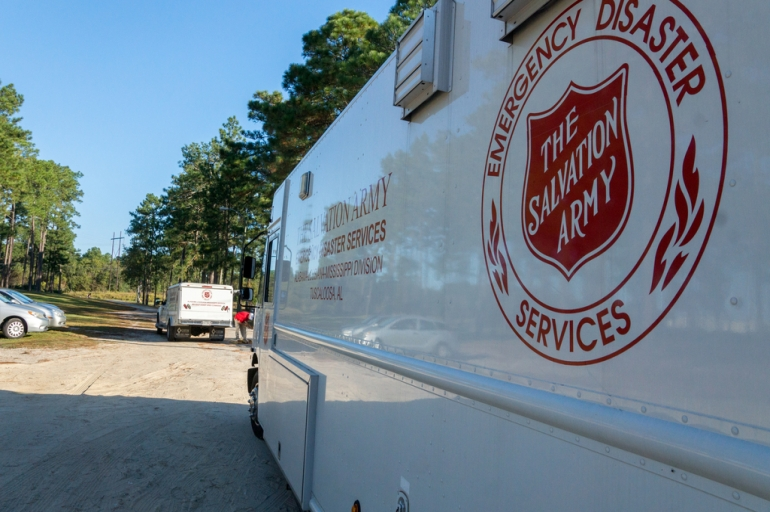The Salvation Army of the Carolinas:  Always There