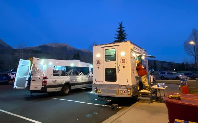 Salvation Army supports evacuees of Colorado East Troublesome Fire