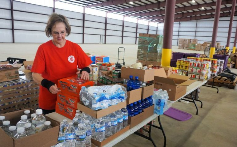In Bainbridge, GA, The Army Behind The Salvation Army After Hurricane Michael