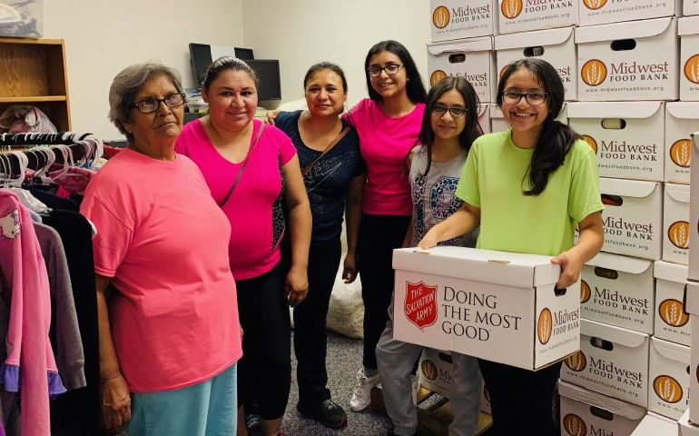 The Salvation Army Flood Relief Efforts Continue in Rio Grande Valley
