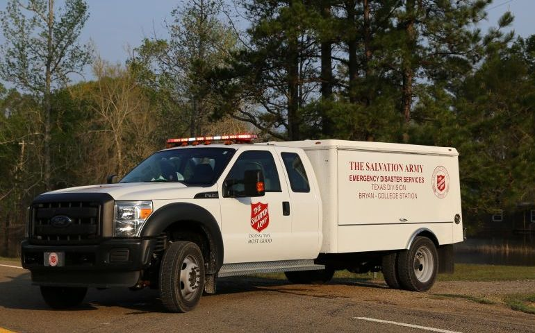 Salvation Army Units on Standby Across Texas as Hurricane Harvey Approaches
