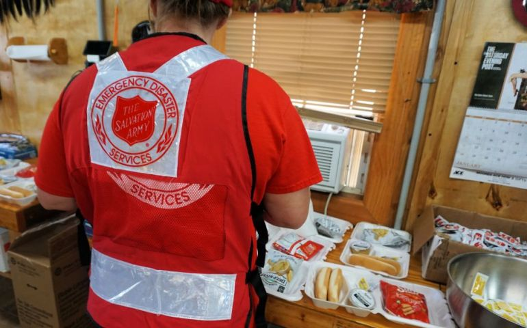 The Salvation Army Continues Relief in Rural Georgia