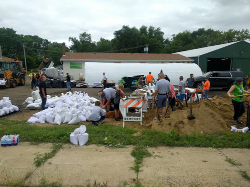 Salvation Army Teams Continue Response to Lake County, Ill. Flooding