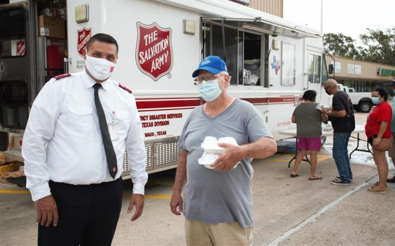 Salvation Army Serving Amidst Widespread Power Outages in Southeast Texas