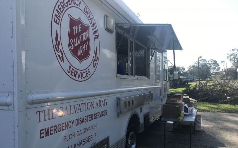 The Salvation Army Continues to Provide Much Needed Food in Acadiana