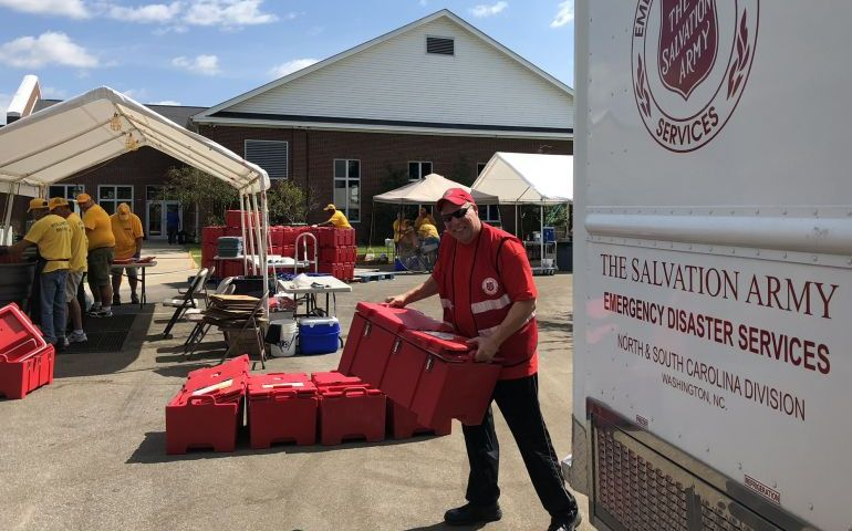 Meals and Muck Out Served with Compassion By Southern Baptist Disaster Relief