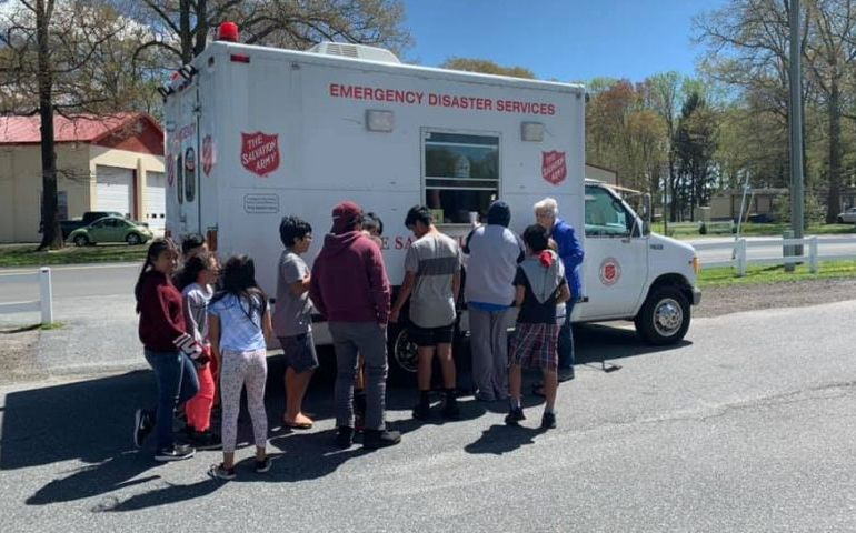 Salvation Army Assisting Residents Impacted by Severe Weather in Eastern PA & DE