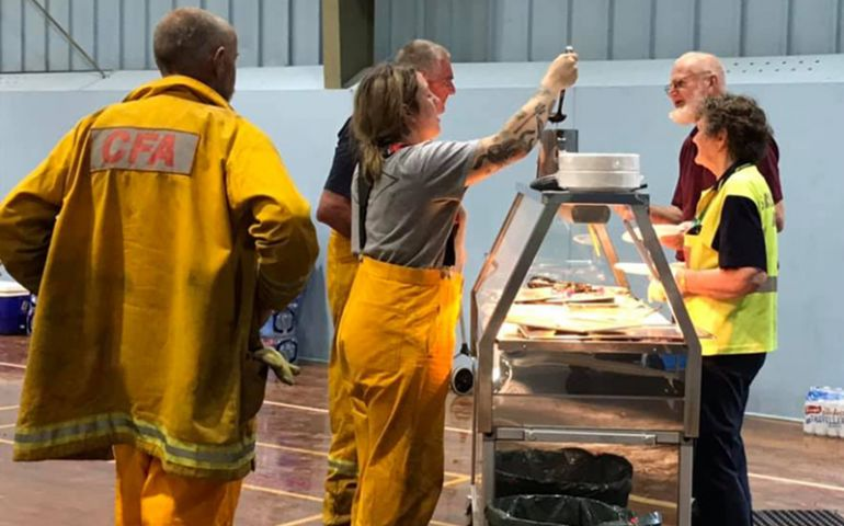 Salvation Army General Calls for Prayer as The Salvation Army in Australia Provides Support to Evacuees and Firefighters