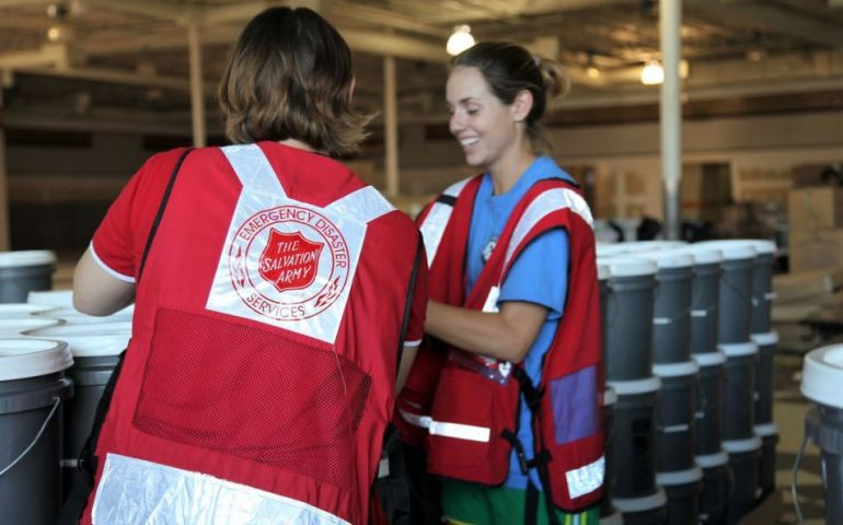 The Salvation Army To Manage Supplies Distribution At Community Recovery Center