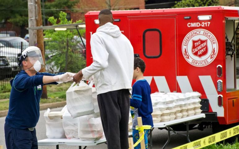 The Salvation Army Preparing to Help More Families during Coronavirus Restrictions