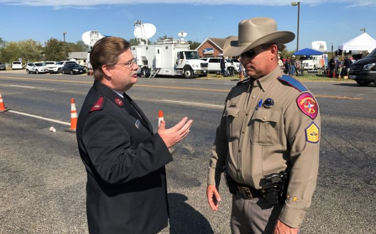 The Salvation Army Serving Following Shooting in Sutherland Springs, Texas
