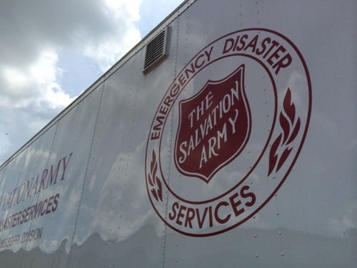 Birmingham Salvation Army Serving After Tornado from Remnants of Cindy